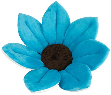 Bloomingbath Kvitnúci kúpeľ, mäkká vložka do vody, Turquoise