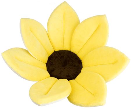 Bloomingbath Kvitnúci kúpeľ, mäkká vložka do vody, Canary Yellow