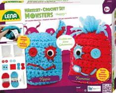 "LENA Pletací monster ""happy"""