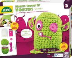 """LENA Pletací monster """"grumpy"""""""