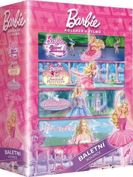 Barbie Baletka: kolekce (4DVD) - DVD