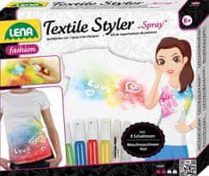 LENA Sprej na textil, šablóny