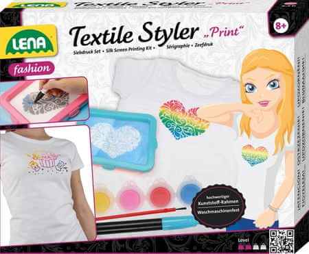 LENA Maľovanie na textil 6801e4eab7f