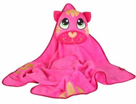 Okiedog Dětská cestovní deka s polštářem - Cat