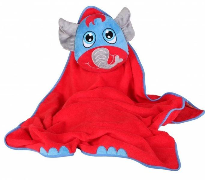 Okiedog Dětská cestovní deka s polštářem - Elephant