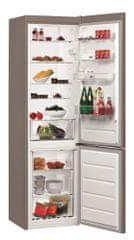 Whirlpool BLF 9121 OX Kombinált hűtőszekrény, 369 L, A+