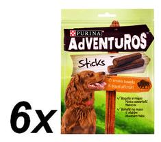 Purina Adventuros Sticks, 6 x 120 g
