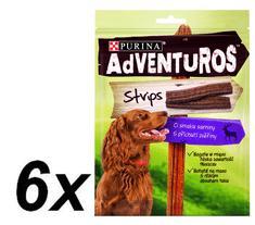Purina Adventuros Strips, 6 x 90 g