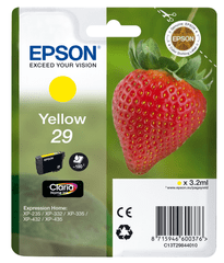 Epson Singlepack Yellow 29 Claria Home (C13T29844010)
