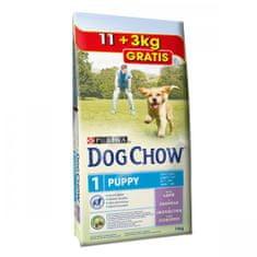 Purina Dog Chow sucha karma dla szczeniąt Puppy Lamb 11 + 3 kg