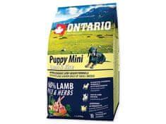 Ontario Puppy Mini Lamb & Rice Kutyatáp, 2,25 kg