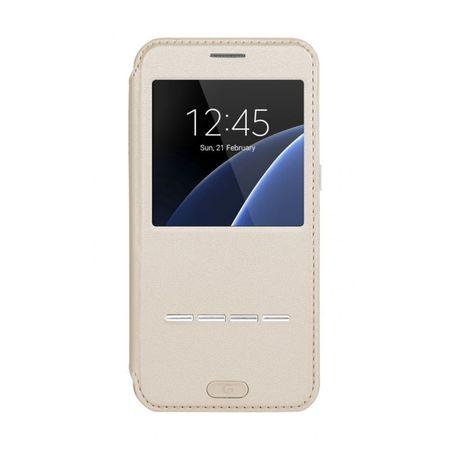 G-case preklopna torbica za Galaxy S7 G930, zlata