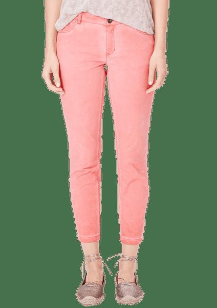 s.Oliver dámské kalhoty 34 růžová