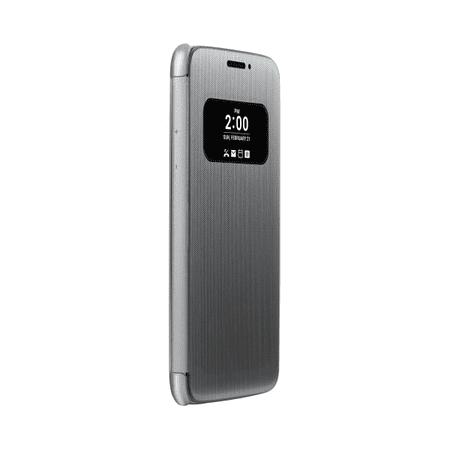 LG preklopni ovitek Flip Cover za LG G5 CFV-160, srebrn