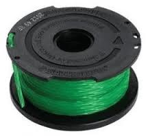 Black+Decker zapasowa żyłka, 1 szt, 2,0mm/6m