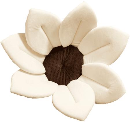 Bloomingbath Kvitnúci kúpeľ, mäkká vložka do vody, Ivory