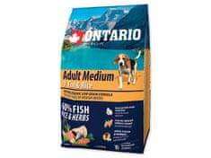 Ontario Adult Medium 7 Fish & Rice 2,25kg