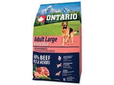 Ontario Adult Large Beef & Turkey 2,25kg