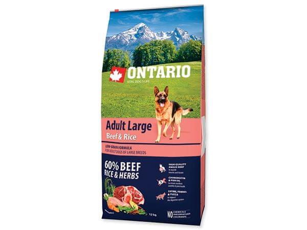Ontario Adult Large Beef & Turkey 12kg