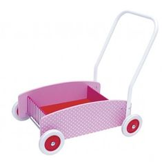 Jabadabado Pchacz wózek różowy