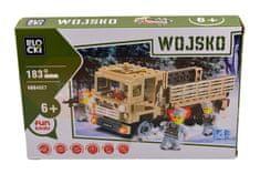 Blocki Klocki Blocki wojsko - Ciężarówka 183 el.