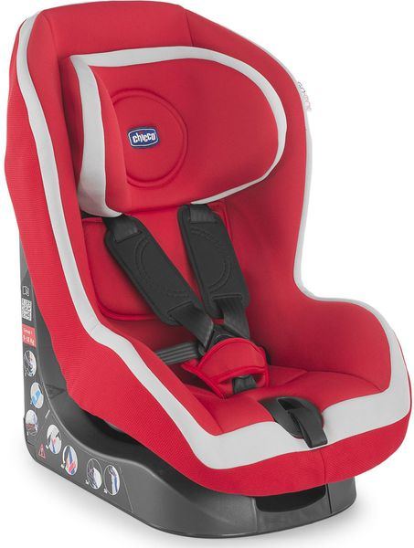 Chicco Autosedačka Go-One 9-18 kg, Red