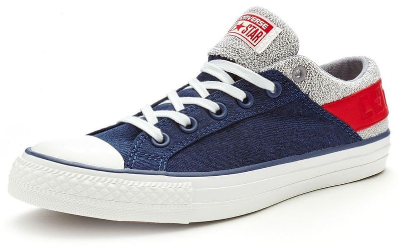 Converse Chuck Taylor Band Ox White/Navy 44