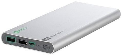 GP Powerbank 10000 mAh Quick Charge 2.0 Silver (FP10MB)