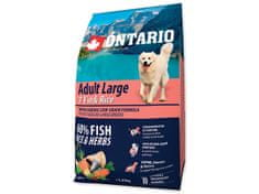 Ontario Adult Large 7 Fish & Rice 2,25kg