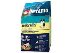 Senior Mini 7 Fish & Rice Kutyatáp, 2,25kg