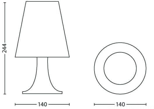 Philips LED lampa Ledové Království 71795/35/16