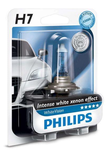 Philips WhiteVision H7, 12 V, 55 W, 1 ks