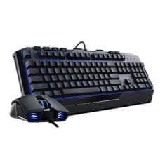 Cooler Master namizni komplet Devastator II, žični z modro LED osvetlitvijo