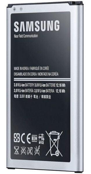 Samsung baterie, EB-BG900BB, Galaxy S5, BULK - II. jakost