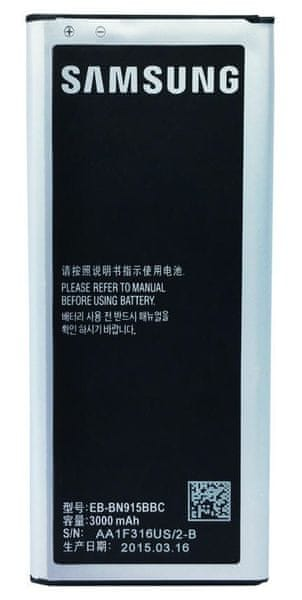 Samsung baterie, EB-BN915BBC, Galaxy Note 4 Edge, BULK - II. jakost