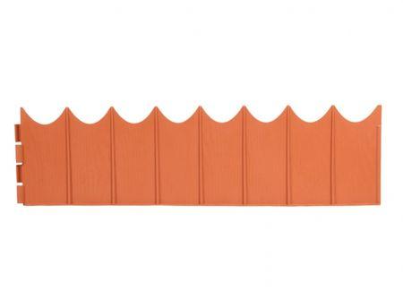 NOHEL GARDEN palisada GARDEN FENCE 5,9 x 0,16 m, terakotowa
