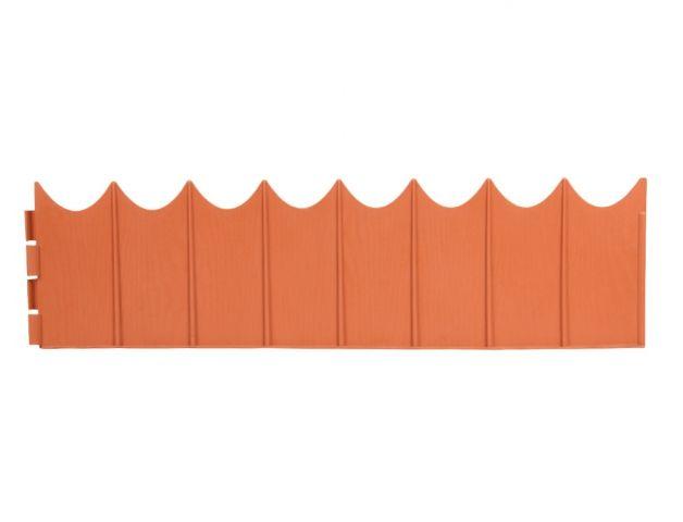 NOHEL GARDEN Obruba GARDEN FENCE terakota 5,9x0,16m