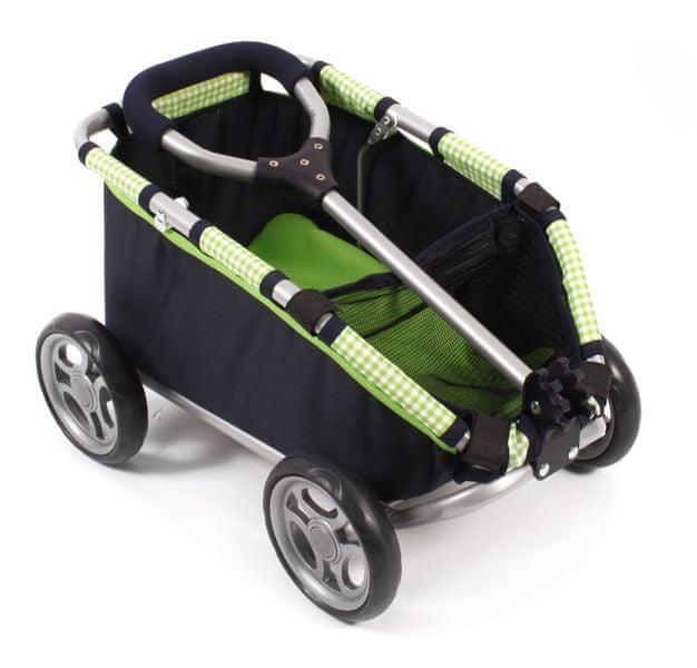 Bayer Chic Tahací vozík SKIPPER zelená/černá