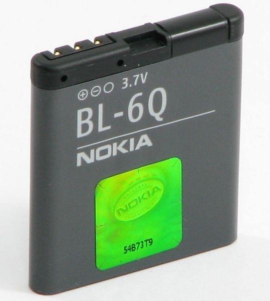 Nokia baterie, BL-6Q, 6700 Classic, BULK