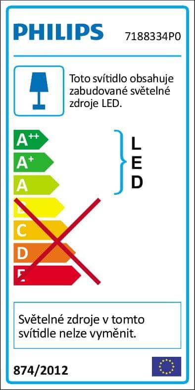 Philips noční LED lampa Medvídek Pú 71883/34/P0 na baterie