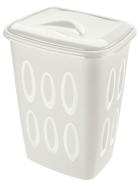 Tontarelli Koš na špinavé prádlo 45 l bílá