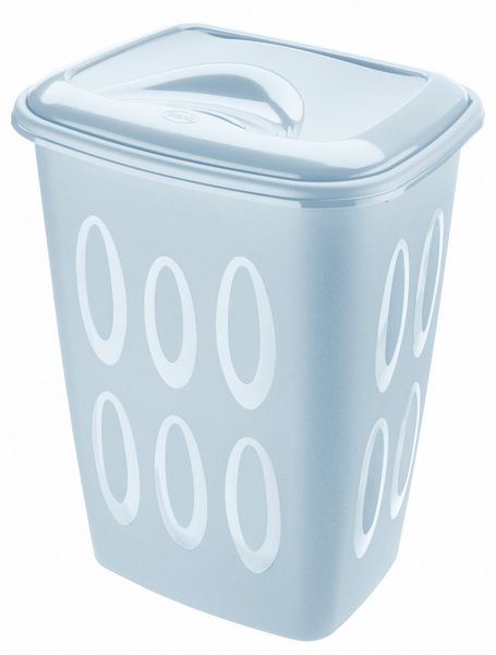 Tontarelli Koš na špinavé prádlo 45 l modrá
