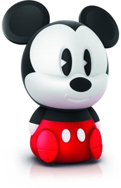 Philips noční LED lampa Mickey Mouse 71883/32/PO na baterie