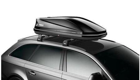 Thule strešni kovček Touring M 200, sijajno črn