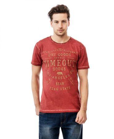 Timeout moška majica M rdeča