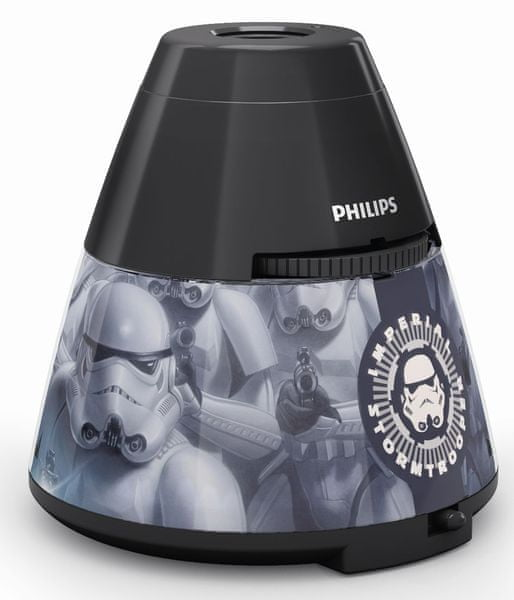 Philips Projektor a noční LED lampa Star Wars 71769/99/16