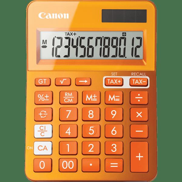 Canon kalkulačka LS-123K-MOR oranžová (9490B004)