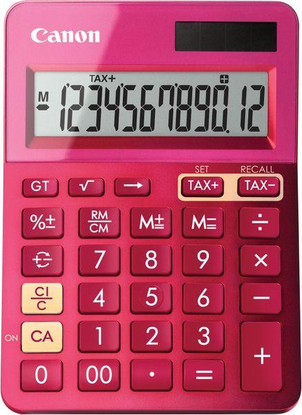 Canon kalkulačka LS-123K-MPK růžová (9490B003)
