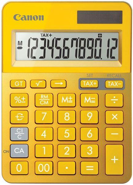 Canon kalkulačka LS-123K-MYL žlutá (9490B006)