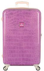 SuitSuit Cestovní kufr TR-1133/2-67 - Purple Crocodile